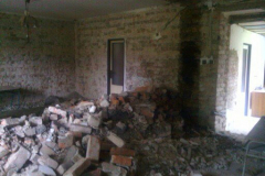 Obyvaci pokoj+Kuchyn v rekonstrukci