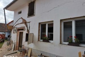 Rekonstrukce fasády - Modrá Hůrka