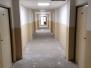 Rekonstrukce podlahové krytiny - spojovacích chodeb (3x podlaží)